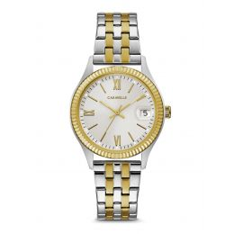 Caravelle by Bulova 45M112 Women's Dress Two-Tone Stainless Steel Watch