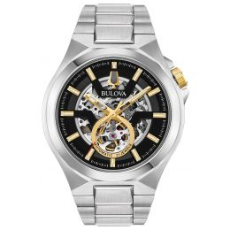 Bulova 98A224 Men's Maquina Automatic Stainless Steel Watch