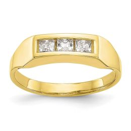 10K Yellow Gold Baby and Children Ring, Size 3